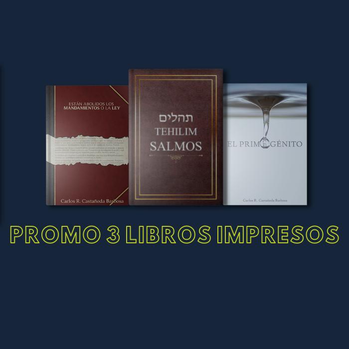 Promo Libros Impresos 3×1